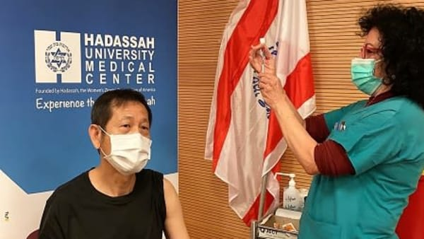 Hadassah to Vaccinate Diplomatic Corps Stationed in Israel